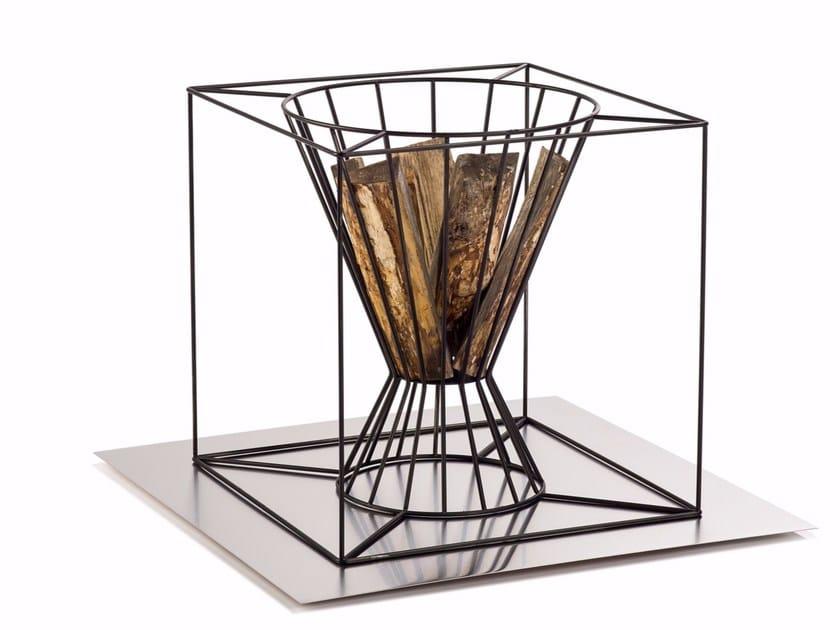 Steel fire baskets BOO | Open outdoor fireplace - Skargaarden