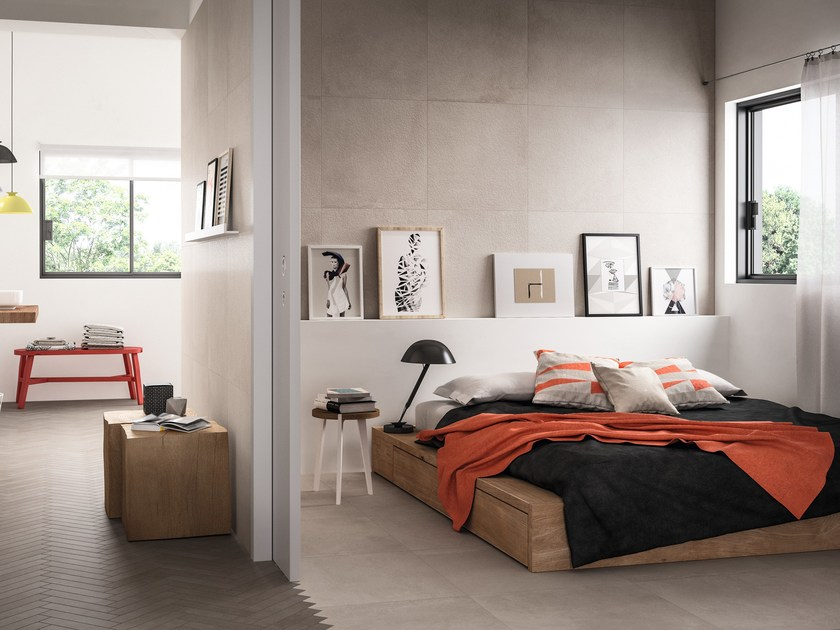 Pavimento/rivestimento in gres porcellanato per interni ed esterni BOOM by Ragno