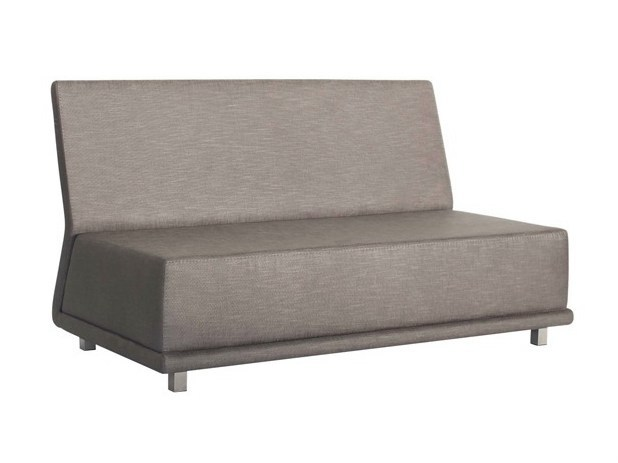 Upholstered fabric sofa BOOMER - AZEA
