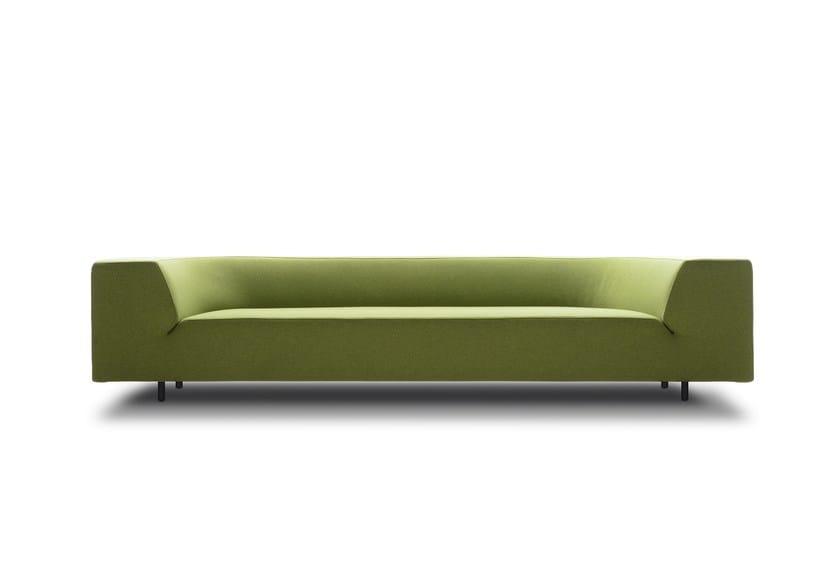 Fabric sofa with removable cover BORA BORA | Sofa - MDF Italia