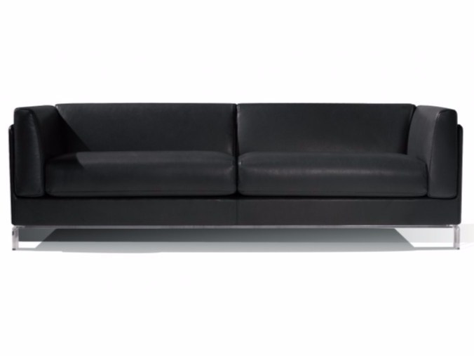 4 seater leather sofa BORA - Canapés Duvivier