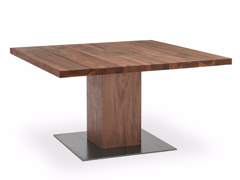 Square solid wood table BOSS EXECUTIVE | Square table - Riva 1920