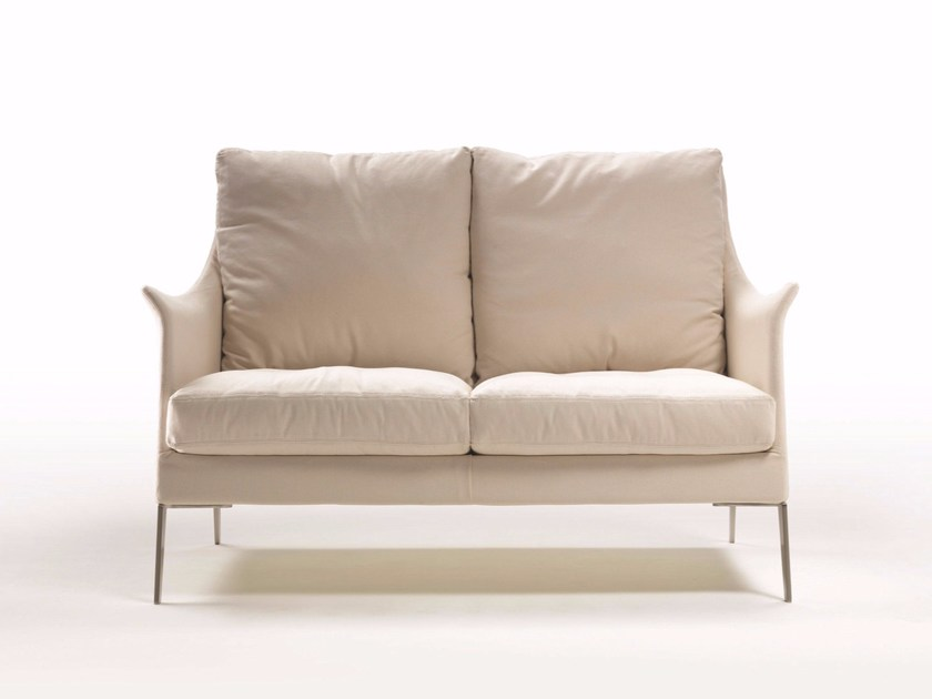 Fabric small sofa BOSS | Small sofa by FLEXFORM