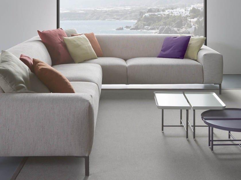 Corner fabric sofa BOSTON | Corner sofa - PIANCA