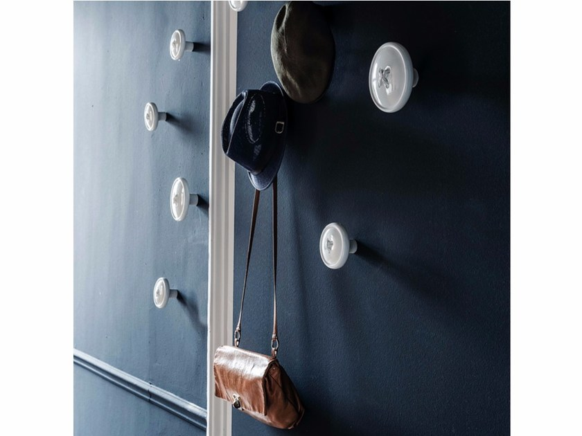 Wall-mounted polyurethane coat rack BOTTONE - Cattelan Italia