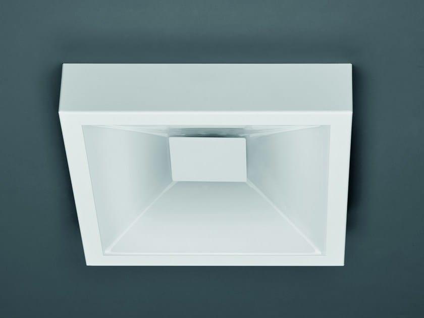 Glass wall lamp / ceiling lamp BOTTONE QUADRO - Sforzin Illuminazione