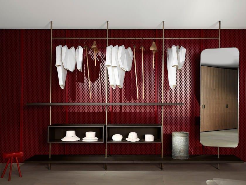 Cabina armadio componibile su misura BOUTIQUE MAST by Porro