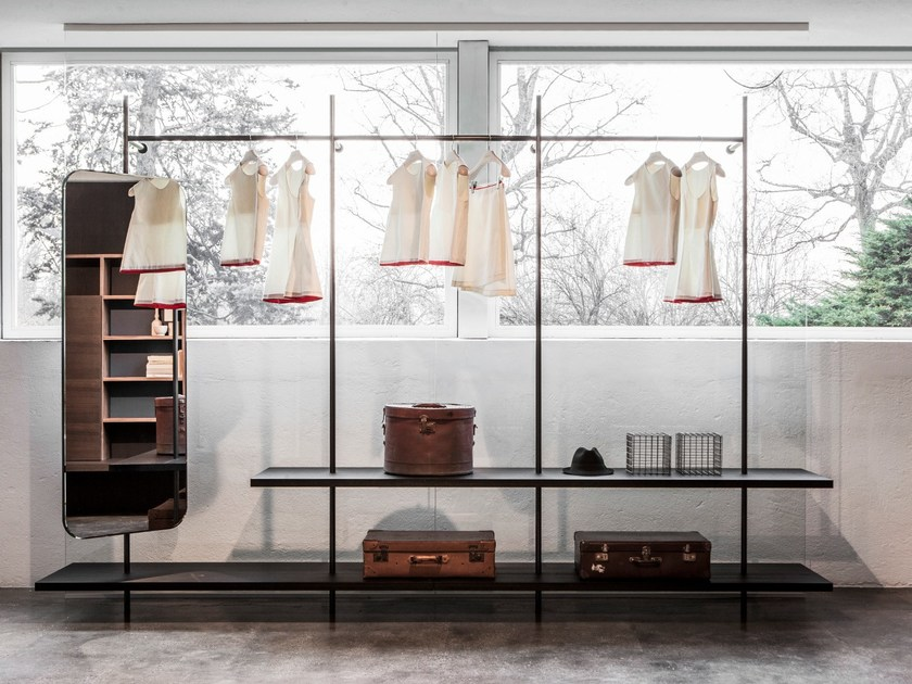 Sectional custom walk-in wardrobe BOUTIQUE MAST - Porro