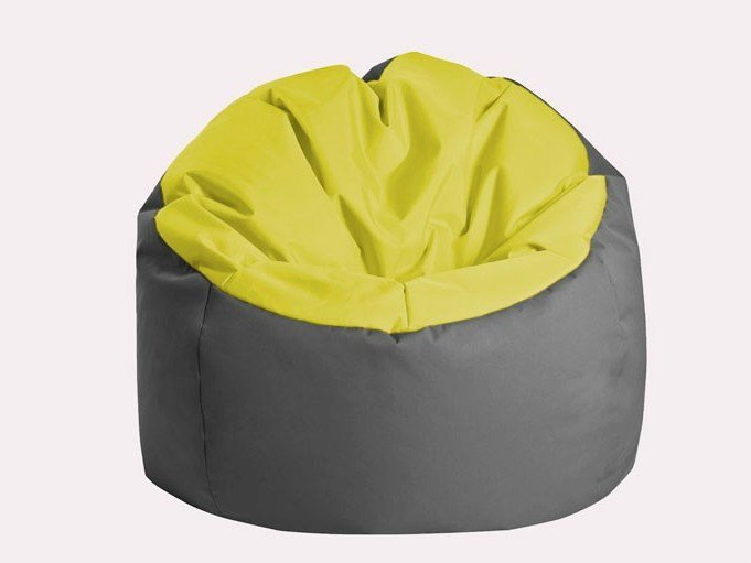 Upholstered armchair with removable cover BOWLY - JUMBO BAG