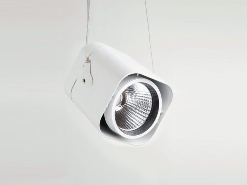 LED suspended adjustable aluminium spotlight BOX AIR - Nexia Iluminación