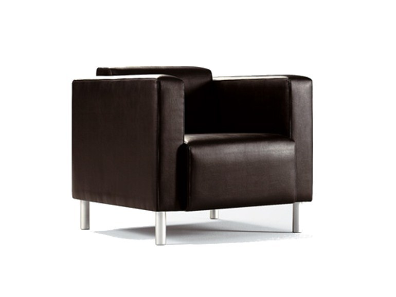 Leather armchair BOX | Armchair - SANCAL