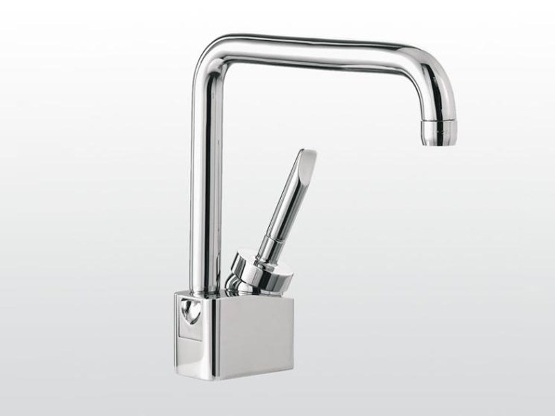Chrome-plated single handle washbasin mixer with adjustable spout BOX | 3226 - RUBINETTERIE STELLA