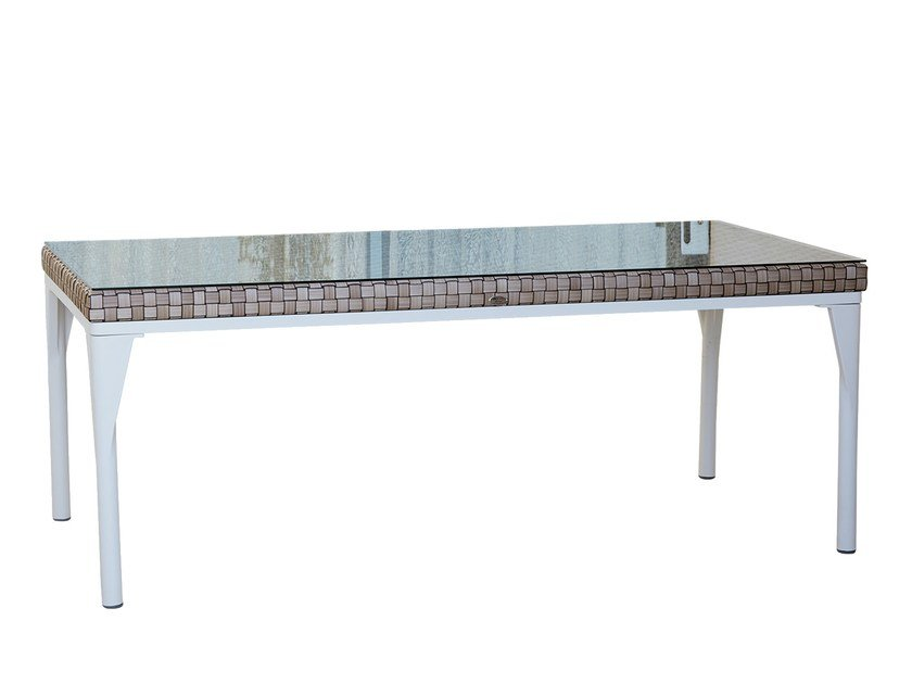 Rectangular table BRAFTA 22936 - SKYLINE design