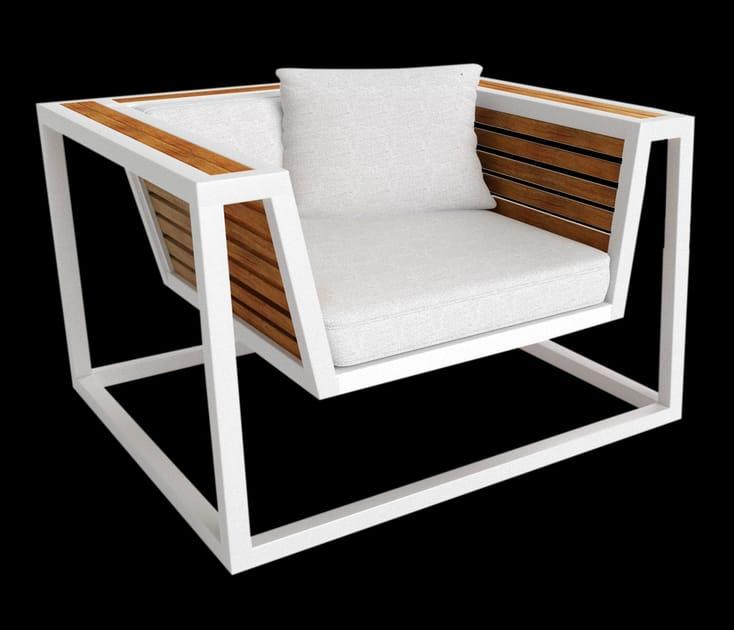 Foam armchair BRAZILIA | Armchair - Sérénité Luxury Monaco