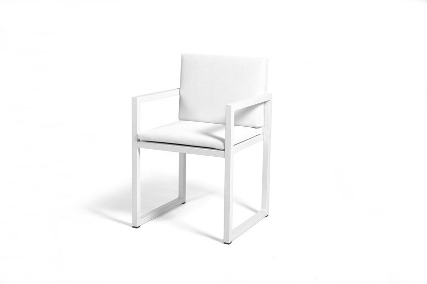 Foam chair with armrests BRAZILIA | Chair with armrests - Sérénité Luxury Monaco
