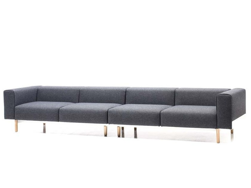 Sectional 4 seater fabric sofa BREAD | 4 seater sofa - D.M.