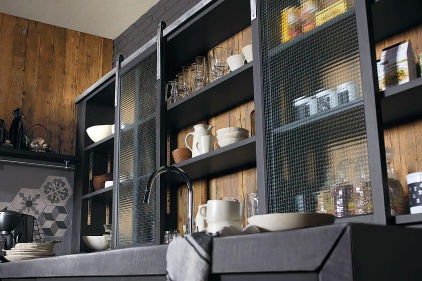 Cucina componibile in legno massello BRERA 76 - Marchi Cucine