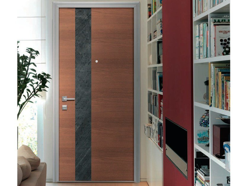 Armoured door panel BRERA by Alias Security Doors