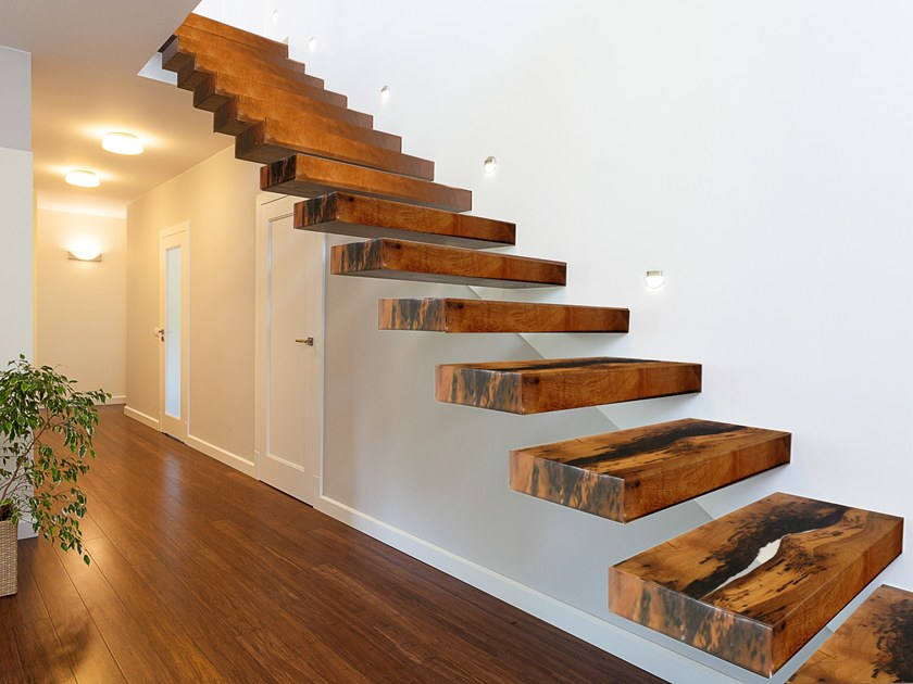 Briccola wood Open staircase BRICCOLE | Open staircase - ANTICO TRENTINO DI LUCIO SEPPI