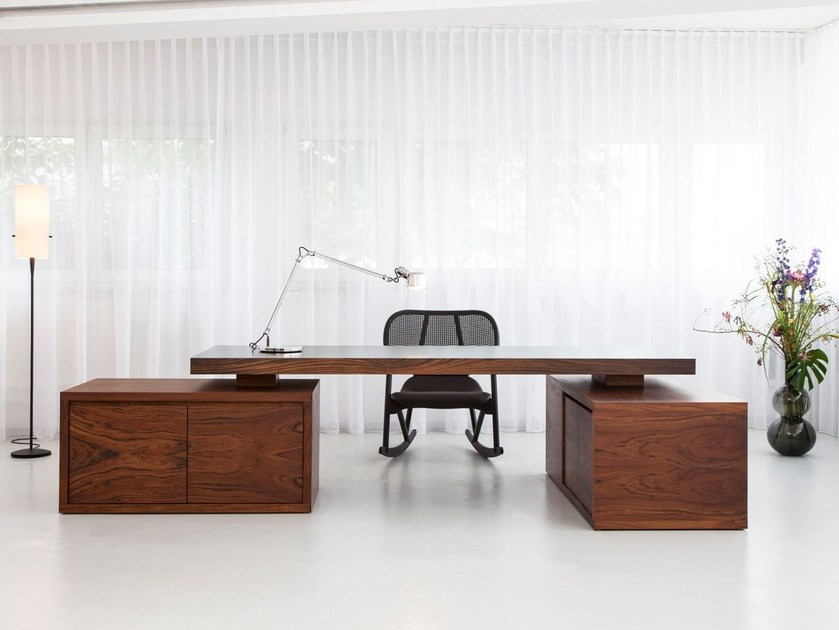 Wooden executive desk BRIDGE EXECUTIVE - MORGEN Interiors