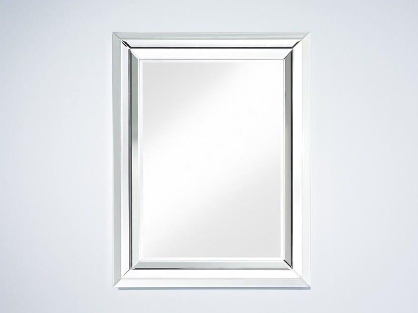 Rectangular wall-mounted framed mirror BRIGHT - DEKNUDT MIRRORS