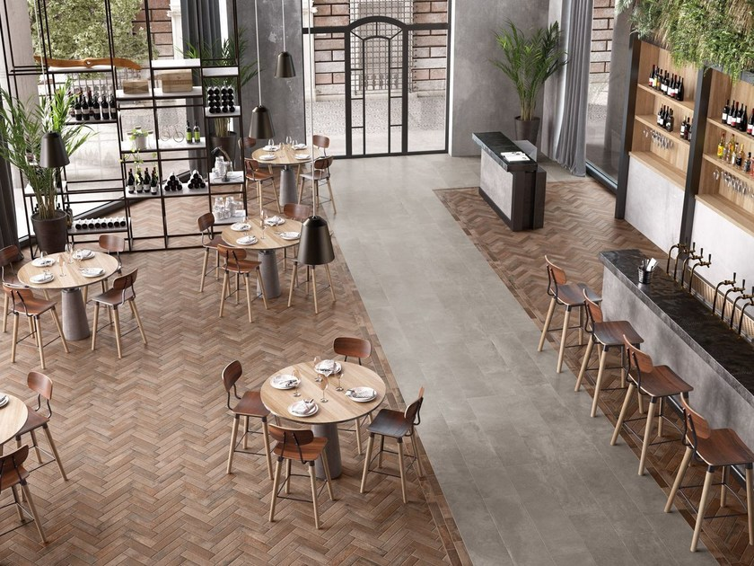 Wall/floor tiles with terracotta effect BRIK COTTO LIGHT - CERAMICHE KEOPE