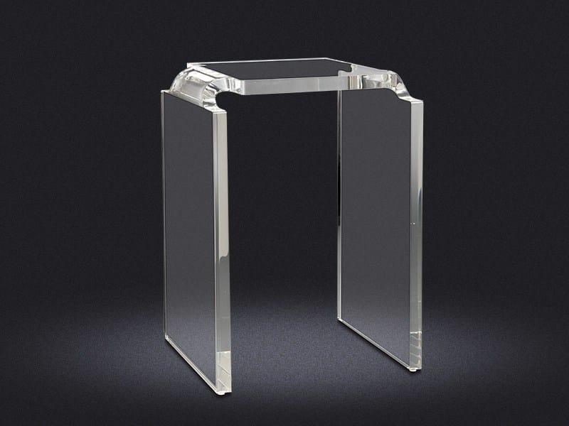 Acrylic bathroom stool BRISA | Bathroom stool - Vallvé Bathroom Boutique
