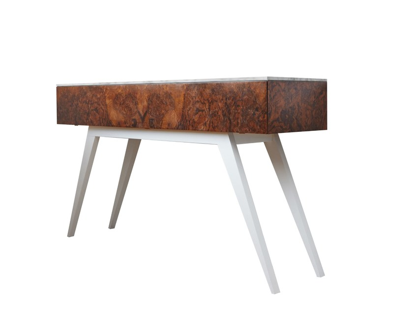 Rectangular walnut console table BROMPTON | Console table by IVAR London