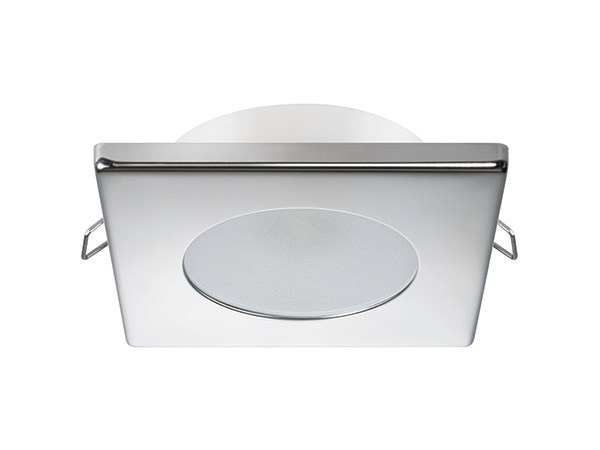 LED ceiling recessed stainless steel spotlight BRYAN C 2W IP40 - Quicklighting