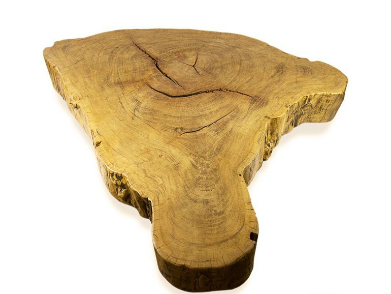 Low wooden coffee table BT135 | Coffee table - Galiatea