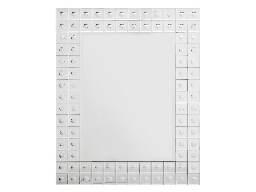 Rectangular wall-mounted mirror BUBBLE 95X75 - KARE-DESIGN