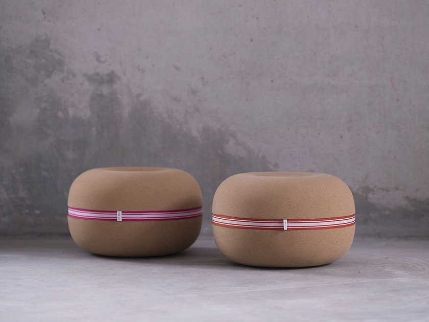 Cork kids pouf BUBBLE | Cork pouf - Two Six