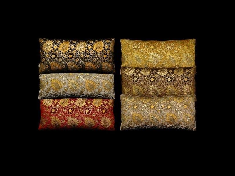 Rectangular velvet cushion BUCINTORO | Rectangular cushion - Venetia Studium