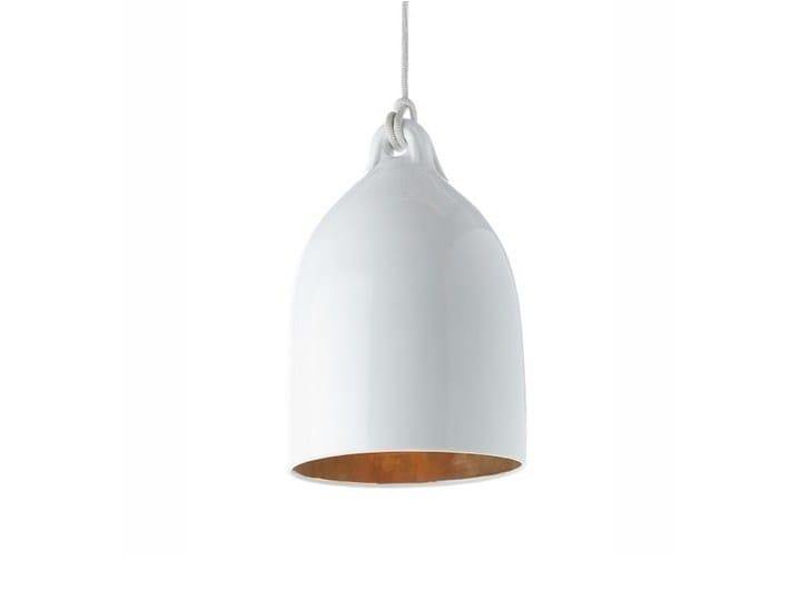 Porcelain pendant lamp BUFFERLAMP - Pols Potten