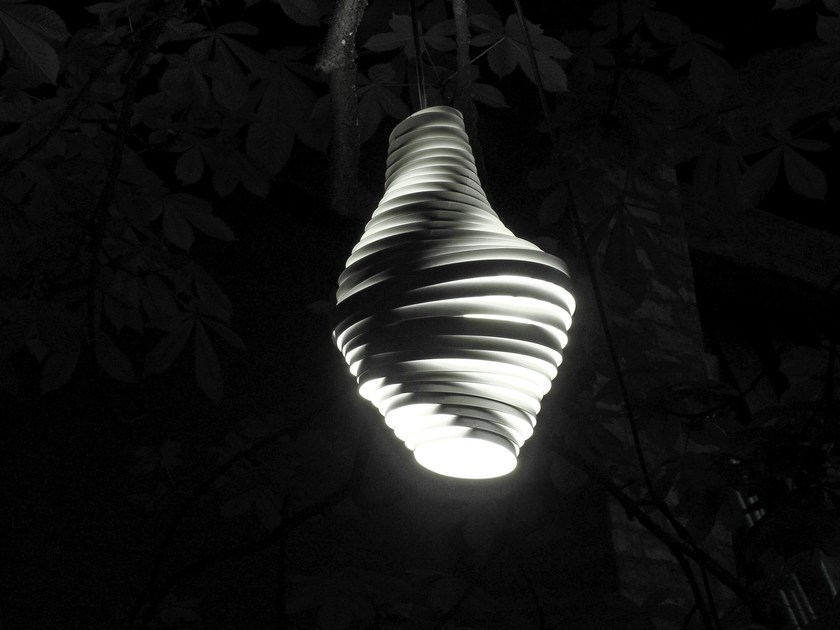 LED stainless steel pendant lamp BUMBLEBEE | Pendant lamp by Brillamenti