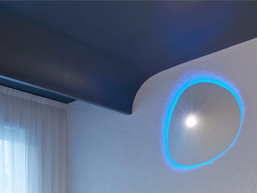 Lampada da parete a LED a luce diretta in plastica BUMP EFFECT - GLIP by S.I.L.E