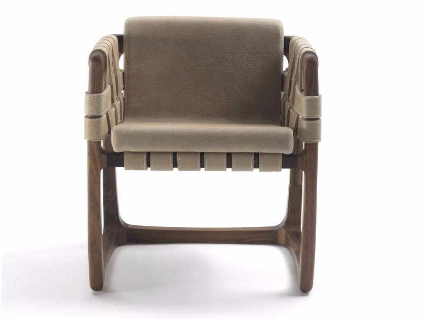 Poltroncina con braccioli BUNGALOW DINING CHAIR by Riva 1920
