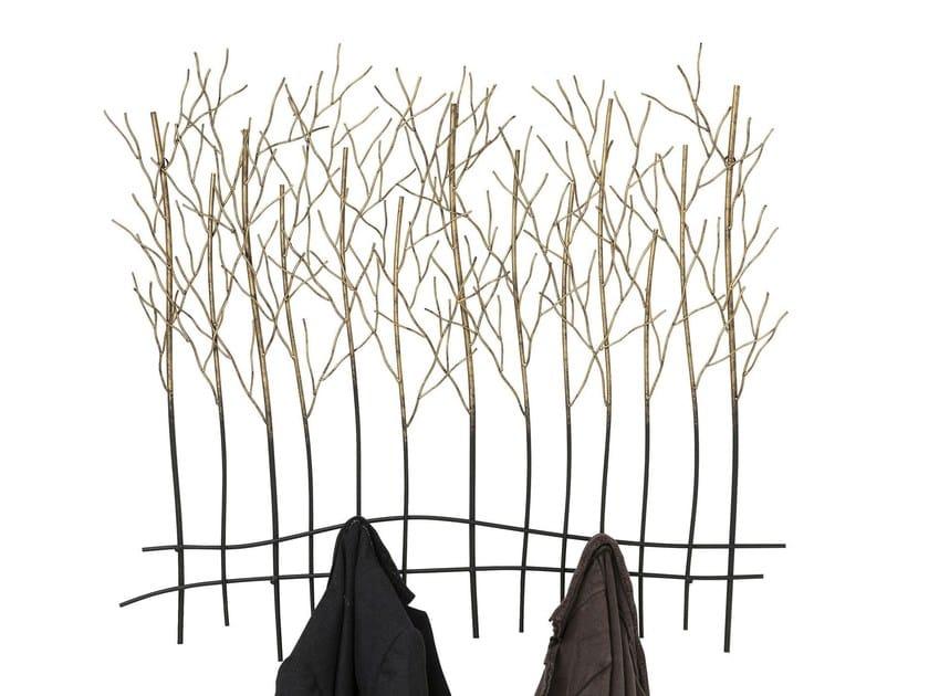 Appendiabiti a parete in acciaio verniciato a polvere BUSH by KARE-DESIGN
