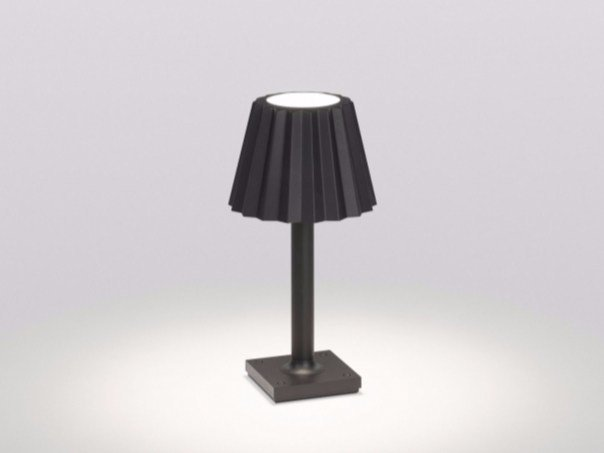 LED aluminium Floor lamp BUTLER P DOWN-UP by Delta Light