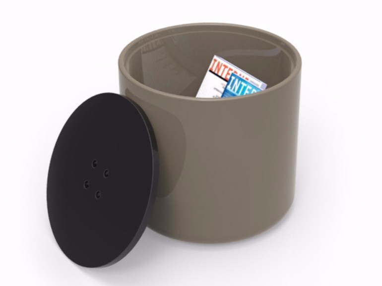 Storage Adamantx® pouf BUTTON - ZAD ITALY