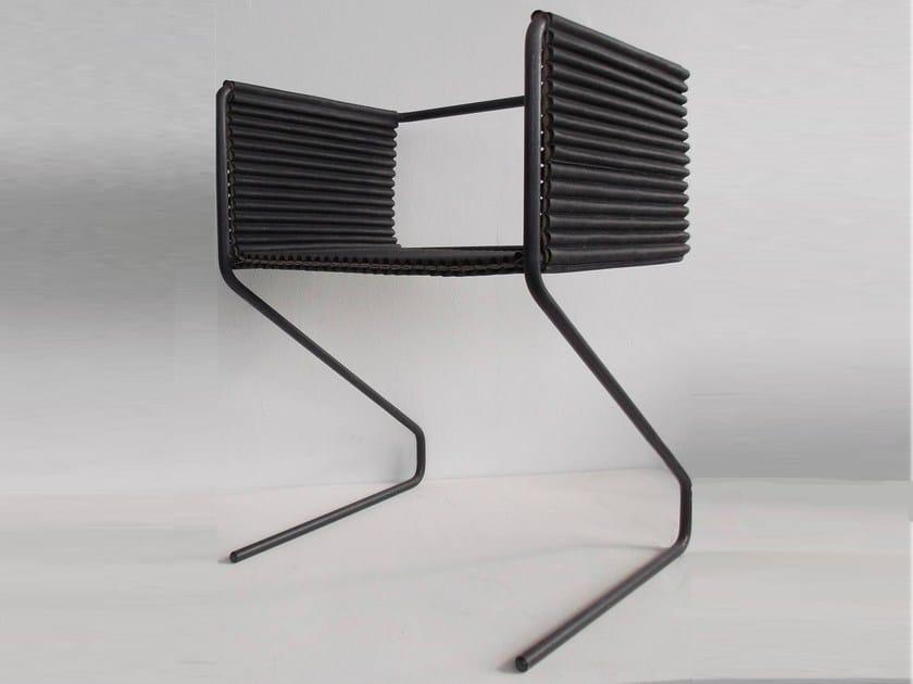 Cantilever easy chair BUXKIN CHAIR - Buxkin