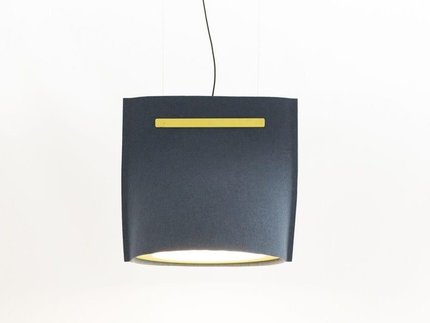 LED felt pendant lamp BUZZIBELL - BuzziSpace