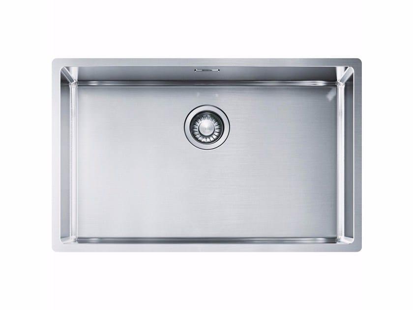 Lavello a una vasca da incasso in acciaio inox BXX 210/110-68 - FRANKE
