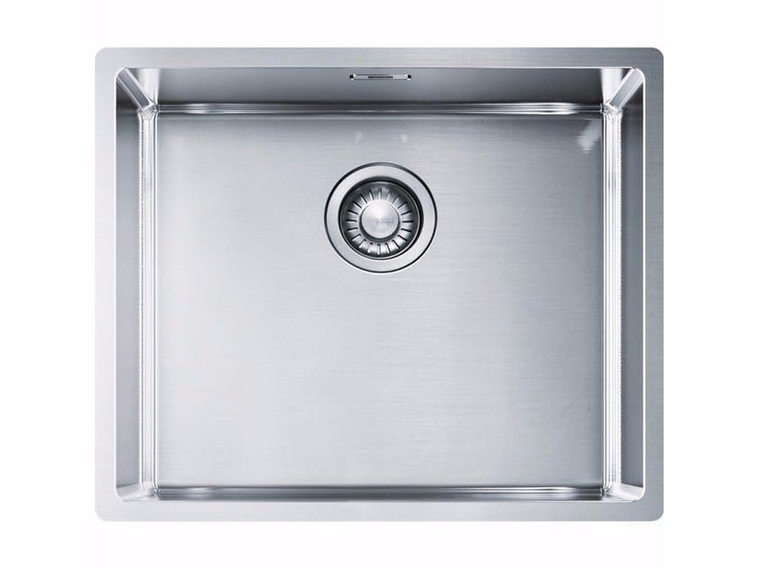Lavello a una vasca da incasso in acciaio inox BXX 210-50/110-50 - FRANKE