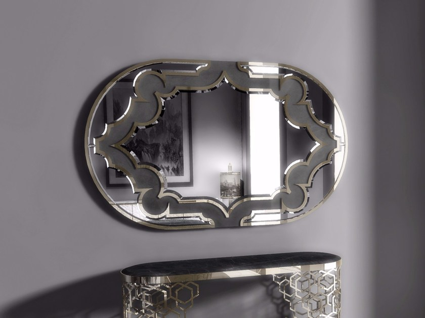Oval wall-mounted mirror BYRON - Longhi