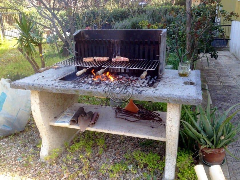Travertine barbecue Barbecue 7 - Garden House Lazzerini