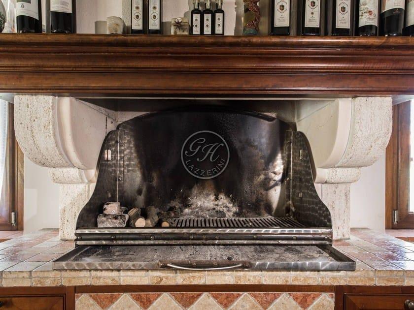 Travertine barbecue Barbecue 8 - Garden House Lazzerini