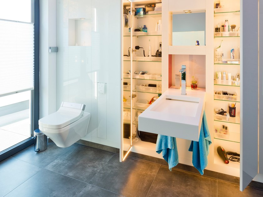 Customized bathroom solutions Bathroom furniture set by baqua