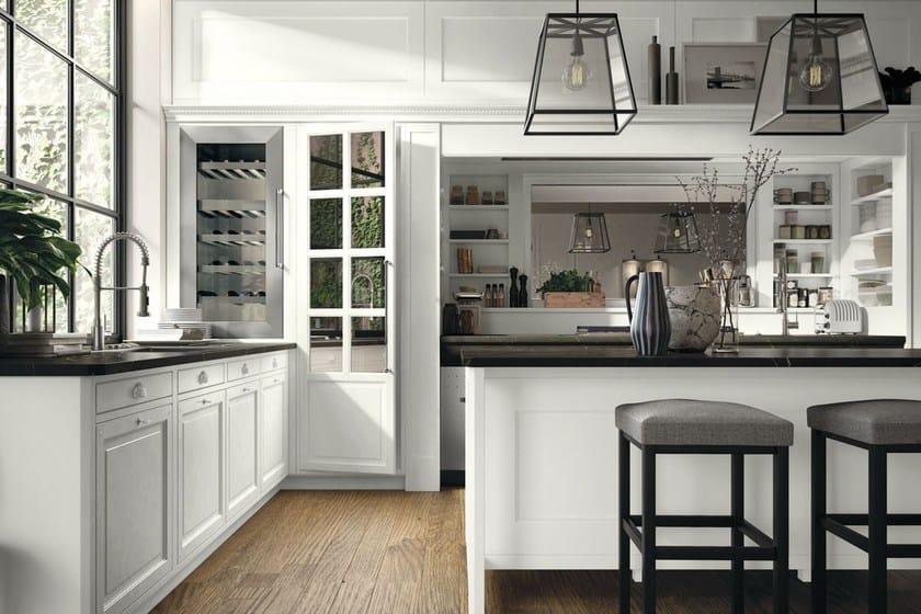 Cucina Componibile In Stile Moderno Con Isola Con Maniglie Bellagio Marchi Cucine