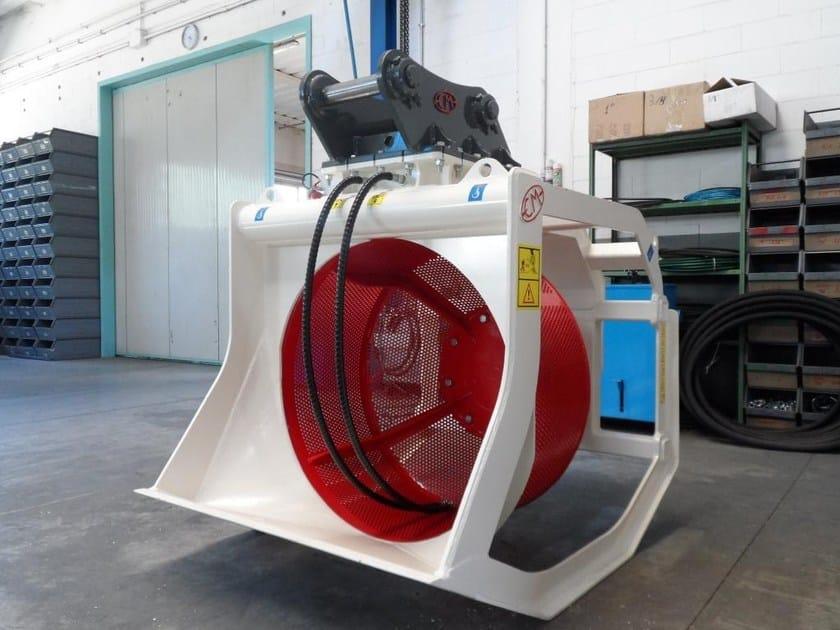 Accessori per macchina da cantiere benna vagliatrice cbr for Accessori macchina
